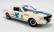 1965 SHELBY GT350R FORD CANADIAN CHAMPION 1/18 SCALE  DIECAST CAR MODEL BY ACME 1801841