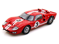 1966 FORD GT40 #3 LE MANS DAN GURNEY 1/18 SCALE DIECAST CAR MODEL BY SHELBY COLLECTIBLES SC406