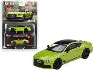 2019 BENTLEY CONTINENTAL GT BY MULLINER 1/64 SCALE DIECAST CAR MODEL BY TSM MINI GT MGT00163