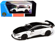 BMW I8 BLACK & WHITE LIBERTY WALK 1/64 SCALE DIECAST CAR MODEL BY PARAGON PARA64 55151