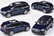 BMW X5 G05 TANZANITE BLUE 1/64 SCALE DIECAST CAR MODEL BY PARAGON PARA64 55182