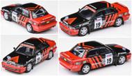 MITSUBISHI GALANT VR-4 RAC 1992 RHD YOKOHAMA 1/64 DIECAST CAR MODEL PARAGON PARA64 65101