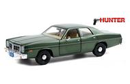 1977 DODGE MONACO HUNTER 1/24 SCALE DIECAST CAR MODEL BY GREENLIGHT 84123