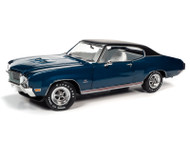 1970 BUICK HARDTOP GS STAGE 1 HEMMING MUSCLE MACHINES 1/18 SCALE DIECAST CAR MODEL BY AUTO WORLD AMM1242