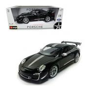 PORSCHE 911 GT3 RS 4.0 BLACK 1/18 SCALE DIECAST CAR MODEL BY BBURAGO 11036