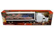 FREIGHTLINER CLASSIC XL DRY VAN SEMI TRUCK & TRAILER 1/32 SCALE BY NEWRAY 12783