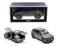 2019 MERCEDES BENZ GLE GREY METALLIC 1/18 SCALE DIECAST CAR MODEL BY NOREV 183746