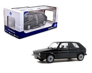 1983 VOLKSWAGEN GOLF L VW BLACK 1/18 SCALE DIECAST CAR MODEL BY SOLIDO S1800209