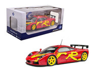 MCLAREN F1 GTR 1996 SHORT TAIL RED 1/18 SCALE DIECAST CAR MODEL BY SOLIDO 1804102