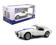 1965 FORD SHELBY COBRA AC 427 MK1 WITH REMOVABLE TOP 1/18 SCALE DIECAST CAR MODEL BY SOLIDO 1804906
