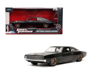 1968 DODGE CHARGER WIDEBODY BLACK DOMS FAST & FURIOUS 9 F9 2021 1/24 SCALE DIECAST CAR MODEL BY JADA TOYS 32614