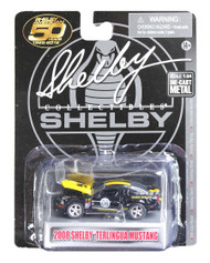 2008 FORD SHELBY MUSTANG TERLINGUA BLACK 1/64 SCALE DIECAST CAR MODEL BY SHELBY COLLECTIBLES SC753
