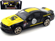 2008 FORD SHELBY MUSTANG TERLINGUA BLACK 1/18 SCALE DIECAST CAR MODEL BY SHELBY COLLECTIBLES SC 296