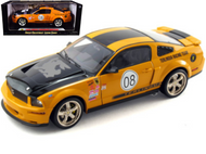 2008 FORD SHELBY MUSTANG TERLINGUA ORANGE 1/18 SCALE DIECAST CAR MODEL BY SHELBY COLLECTIBLES SC 297