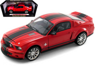 2008 FORD SHELBY MUSTANG GT500 SUPER SNAKE 1/18 SCALE DIECAST CAR MODEL BY SHELBY COLLECTIBLES SC 313