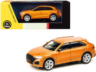 AUDI RS Q8 DRAGON ORANGE 1/64 SCALE DIECAST CAR MODEL BY PARAGON PARA64 55173