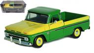 1966 CHEVROLET C-10 FLEETSIDE PICKUP TRUCK GREEN 1/24 SCALE DIECAST CAR MODEL BY MOTOR MAX 73355