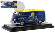 1960 VOLKSWAGEN DELIVERY VAN BUS SPAM VW 1/24 SCALE DIECAST CAR MODEL BY M2 MACHINES 40300-82B