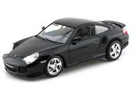 Porsche 911 Turbo Black 1/18 Scale Diecast Car Model By Bburago 12030