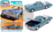 1975 CADILLAC ELDORADO JENNIFER BLUE 1/64 SCALE DIECAST CAR MODEL BY AUTO WORLD AWSP070