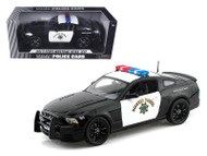2013 Ford Mustang Boss 302 California Highway Patrol CHP Police 1/18 Scale Diecast Car Model By Shelby Collectibles SC 460