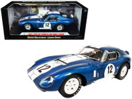 1965 SHELBY COBRA DAYTONA #12 1/18 SCALE DIEAST CAR MODEL BY SHELBY COLLECTIBLES SC146