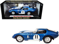 1965 SHELBY COBRA DAYTONA #11 1/18 SCALE DIECAST CAR MODEL BY SHELBY COLLECTIBLES SC149