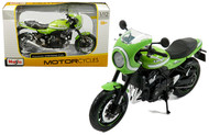 KAWASAKI Z900RS CAFE GREEN 1/12 SCALE DIECAST MOTORCYCLE MODEL BY MAISTO 18989