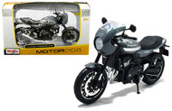 KAWASAKI Z900RS CAFE BLACK 1/12 SCALE DIECAST MOTORCYCLE MODEL BY MAISTO 18990