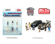 DEALERSHIP SET FIGURES FOR DIECAST CARS 1/64 SCALE BY AMERICAN DIORAMA 76476
