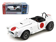 1965 Shelby Cobra 427 S/C #11 Elvis Presley Spinout White 1/18 Scale Diecast Car Model By Auto World AWSS104