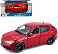 2018 LAMBORGHINI URUS RED 1/24 SCALE DIECAST CAR MODEL BY MAISTO 31519