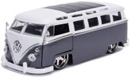 1962 VOLKSWAGEN BUS SAMBA VW 1/24 SCALE DIECAST CAR MODEL BY JADA TOYS 99024