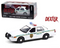 2001 FORD CROWN VICTORIA POLICE INTERCEPTOR DEXTER MIAMI METRO POLICE DPARTMENT 1/24 SCALE DIECAST CAR MODEL BY GREENLIGHT 84133