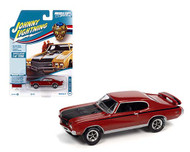 1971 BUICK GSX FIRE RED 1/64 SCALE DIECAST CAR MODEL BY JOHNNY LIGHTNING JLSP151