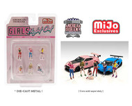 GIRLS NIGHT OUT FIGURES 1/64 SCALE DIECAST CAR MODEL BY AMERICAN DIORAMA 76477