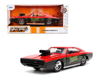 1970 DODGE CHARGER GASSER VOODOO CHARGER 1/24 SCALE DIECAST CAR MODEL BY JADA TOYS 32703