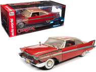 1958 PLYMOUTH FURY CHRISTINE PARTIALLY RESTORED 1/18 SCALE DIECAST CAR MODEL BY AUTO WORLD AWSS130