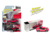 2010 DODGE CHALLENGER R/T PINK WITH TIN BOX 1/64 SCALE DIECAST CAR MODEL BY JOHNNY LIGHTNING JLSP147 B