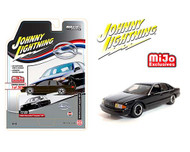 1996 CHEVROLET IMPALA SS BLACK 3600 MADE EXCLUSIVE 1/64 SCALE DIECAST CAR MODEL BY JOHNNY LIGHTNING JLCP7372