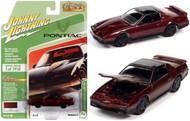 1984 PONTIAC TRANS AM MAPLE 1/64 SCALE DIECAST CAR MODEL BY JOHNNY LIGHTNING JLSP148