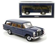 1966 MERCEDES BENZ 200 UNIVERSAL DARK BLUE 1/18 SCALE DIECAST CAR MODEL BY NOREV 183599