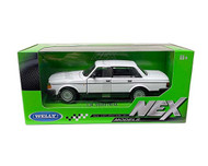 VOLVO 240 GL WHITE 1/24 SCALE DIECAST CAR MODEL BY WELLY 24102