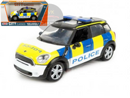 MINI COOPER S COUNTRYMAN UK POLICE 1/24 SCALE DIECAST CAR MODEL BY MOTOR MAX 79751