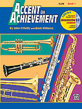 Alfred's Accent on Achievement Flute Book 1 (w/ CD)