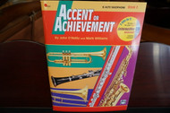 Alfred's Accent on Achievement E Flat Alto Saxophone Book 2 (w/ CD)