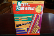Alfred's Accent on Achievement B Flat Bass Clarinet Book 2 (w/ CD)
