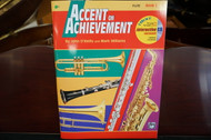 Alfred's Accent on Achievement Flute Book 2 (w/ CD)