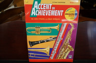 Alfred's Accent on Achievement B Flat Tenor Saxophone Book 2 (w/ CD)