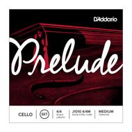 D'Addario Prelude Cello A String, 4/4 Scale, Medium Tension